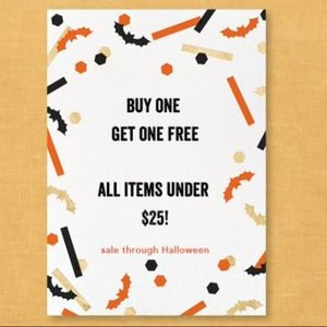 Other - Buy One Get One Free: All items under $25